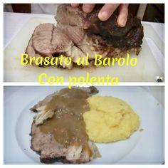 http://www.chefstefanobarbato.com/it/brasato-al-barolo-con-polenta/. Qui la ricetta, una vera #delizia #Buonpranzo #chef #ricette #food #mangiarebene #piatti