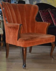 Los Angeles: Retro Velvet Chair in a Good Condition $75 - http://furnishlyst.com/listings/412244