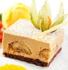 Prăjitură cu cremă de banane | Retete culinare - Romanesti si din Bucataria internationala