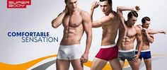 Taddlee Brand 4pcs Sexy Men Underwear Trunks Boxer Shorts Cotton