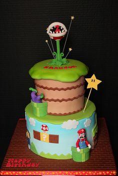 Birthday cake by Andrea's SweetCakes, via Flickr