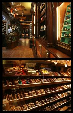 Pipe and cigar shopping at Barclay-Rex - 75 Broad Street