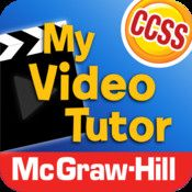 My Video Tutor by McGraw-Hill: Want extra help in math? Need to review a math concept again? Would you like the problem worked out one more time? The solution is at your fingertips, with a library of instructional videos from McGraw-Hill Education. Videos are available in packages by subject and target grade.