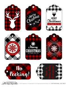 These free printable buffalo check plaid gift tags are perfect for all of your Christmas and holiday gifts! There's also a cute deer head print for your holiday decor! I am super excited to share my new holiday printable gift tags with you today, and I'm not the only one who has had holiday printables on their mind! …