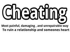 Cheaters Quotes Relationship Infidelity