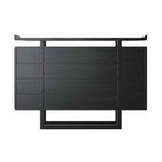 现代中式样板房边柜储藏柜: