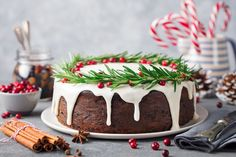 The best gluten free fruit cake recipe with unexpected mild fall flavors but strong fruit and nut flavors from unexpected sources. Chocolate Sponge Cake, Dark Chocolate Cakes, Chocolate Flavors, Food Cakes, Holiday Cakes, Christmas Desserts, Cranberry Pudding Recipe, Free Fruit, Unsweetened Cocoa