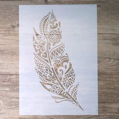 Size DIY Craft Layering Mandala Elephant Owl Feather Stencils for Walls Painting Airbrush Wall Art Canvas Wood Furniture Cards Painting Art Projects Scrapbooking Stamping Album Decorative Embossing Paper Cards Mandala Feather, Owl Feather, Flower Mandala, Basic Painting, Diy Wall Painting, Stencil Painting, Stencil Diy, Stencils For Painting, Mandala Stencils