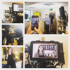 Being the supremely photogenic bunch that we are @unleashedsoftware decided to come and film their promotional video with us today. So y'know nothing too out of the ordinary. #nobusinesslikeshowbusiness