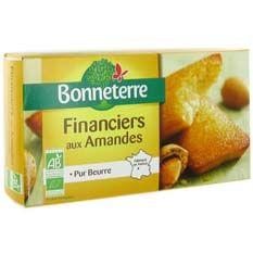 Naturalia, magasins bio et nature - financiers-aux-amandes-150g - epicerie-sucree - biscuits-secs--specialites