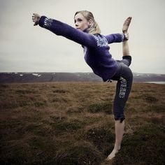 Yoga wishbone
