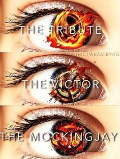The hunger games edit, tribute, victor, mockingjay Katniss Everdeen THG