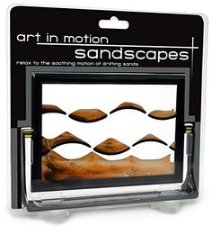 Westminster Sandscape Moving Sand Picture with Multiple Levels, Marble