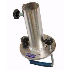 Parasolfod - SMARTfoot - Til montering på gelænder Galvaniseret stål