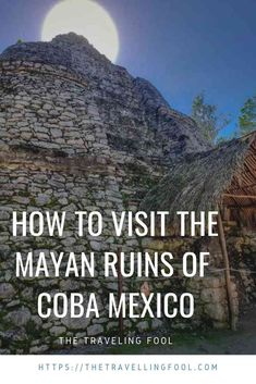 Visit the Mayan ruins of Coba in Mexico and learn about the history and culture of these fascinating people Adventure Activities, Adventure Tours, Places To Travel, Travel Destinations, Travel Tips, Travel Goals, Travel Hacks, Travel Photos, Coba Mexico