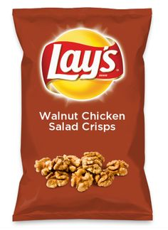 Wouldn't Walnut Chicken Salad Crisps be yummy as a chip? Lay's Do Us A Flavor is back, and the search is on for the yummiest flavor idea. Create a flavor, choose a chip and you could win $1 million! https://www.dousaflavor.com See Rules.