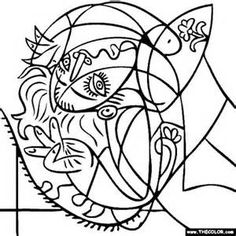 Picasso Printable Coloring Pages - Bing Images