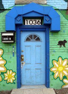 pujili ecuador painted doors - Google Search