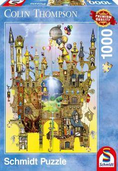Puzzle Castillo Colin Thompson ( Ref:  0000059354 )