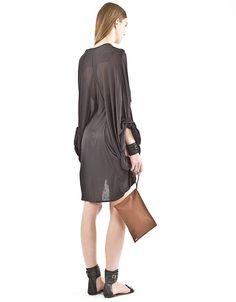 Kimono Jersey Dress - 12A1WSDR02