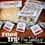 """The """"Road Trip"""" - Take a map and mark """"special"""" spots on the route to give kids a surprise bag (toy, snack, activity, etc inside).  Breaks up the trip and helps stop Are We There Yet?"""