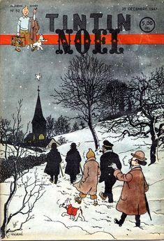 Journal de TINTIN édition Belge N° 52 du 25 Décembre 1947 - Noël