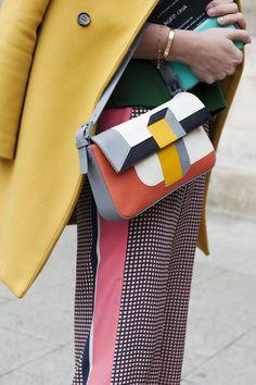 Paris Fashion Week Fall 2013 - color blocks