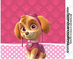 Uau! Veja o que temos para Mini Confeti Patrulha Canina para Meninas