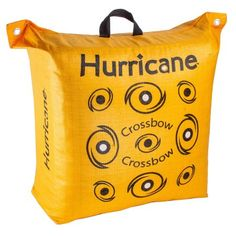 Hone your hunting skills along with your precision aiming by choosing this durable Hurricane Double Sided Woven Crossbow Archery Bag Target in Yellow. Crossbow Targets, Diy Crossbow, Crossbow Arrows, Crossbow Hunting, Archery Hunting, Survival Weapons, Survival Prepping, Survival Gear, Wilderness Survival