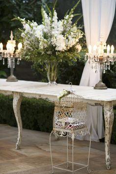 Rustic Elegance Reception Decor | Photography: Blumenthal Photography