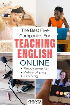 Looking for a work at home job? A job that allows you to be location independent? Or simply to earn a little extra money with a part time side hustle? Teaching English online could be perfect for you, here's 5 reputable companies with pros & cons of each Teaching English Online, Teaching Spanish, Online Teaching Jobs, Teach Online, Teaching Tips, Education Degree, Education College, Kids Education, Education Requirements
