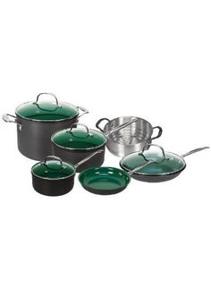 Telebrands Orgreenic, 10-Piece Set (Including Lids)