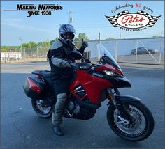 Thank You, John, for your recent purchase of your New 2020 Ducati Multistrada 950! We hope that you make many awesome Memories with your new Ride! Congratulations! #HappyCustomers #Ducati #Multistrada #Multistrada950 #DucatiMultistrada #DucatiMultistrada950 #RideSafe #New #Fun Ducati Multistrada, Ducati Motorcycles, Cycling, Congratulations, Vehicles, Fun, Memories, Awesome, Memoirs