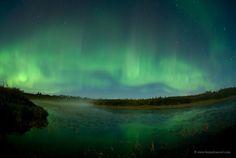 Northern Lights over Northern Lights Lake