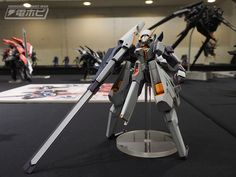 GUNDAM GUY: Ryuji Sorayama's Gunpla Exhibition [Mobile Suit Gundam A.O.Z & Others] - Image Gallery