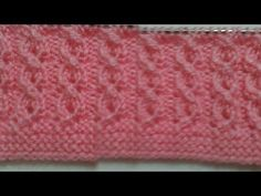 Water drop female vest model making - Stricken Cable Knitting Patterns, Knitting Stiches, Knitting Videos, Crochet Designs, Crochet Patterns, Tunisian Crochet, Bargello, Baby Sweaters, Stitch