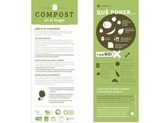 Posters sobre compostaje. Design: Ceci Estrella Compost - Poster - Diy - infographic