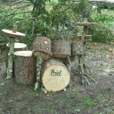 Hippie drum set