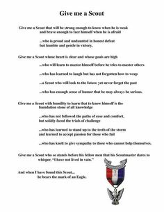 Nice description of what it means to be an Eagle Scout Boy Scout Oath, Scout Mom, Scout Leader, Cub Scouts, Girl Scouts, Eagle Scout Project Ideas, Scout Quotes, Eagle Scout Ceremony, Amigurumi