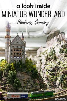 (192) Visiting Miniatur Wunderland in Hamburg, Germany