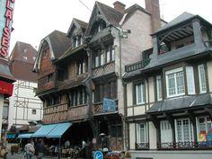 Normandie, Etretat la ville