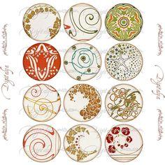 Art Deco motifs #3