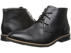 Rockport Ledge Hill 2 Chukka Boot Black Leather - Zappos.com Free Shipping BOTH Ways wide width !!!
