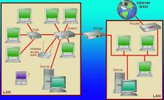 VLAN Tutorial with Comparing LAN, VLAN and Trunk Port...