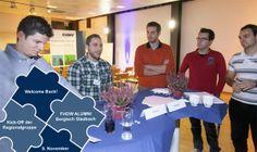 """Die """"Alten"""" schnupperten wieder Hochschulluft - FHDW- Alumni- Regionalgruppe Bergisch Gladbach #gl1 lud am 9. November 2013 zum Kick-Off ein..."""