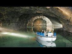 Seegrotte underground lake near Vienna, Austria