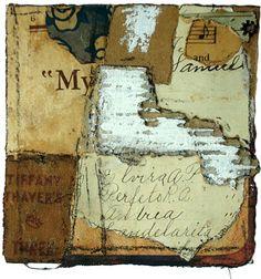 Crystal Neubauer Collage Mixed Media Fine Art Salvaged