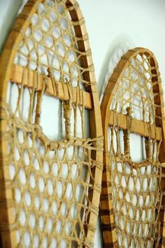 Vintage snowshoes...have a pair hanging in the old cabin...