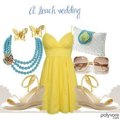 LOOOOVE, inspired by Laurie (Busy Phillips) in Cougar Town. This ensemble just puts the sunshine in your day, doesn't it? Very light and breezy.