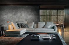 Living Room ideas - if I lived in the city and wanted a modern style